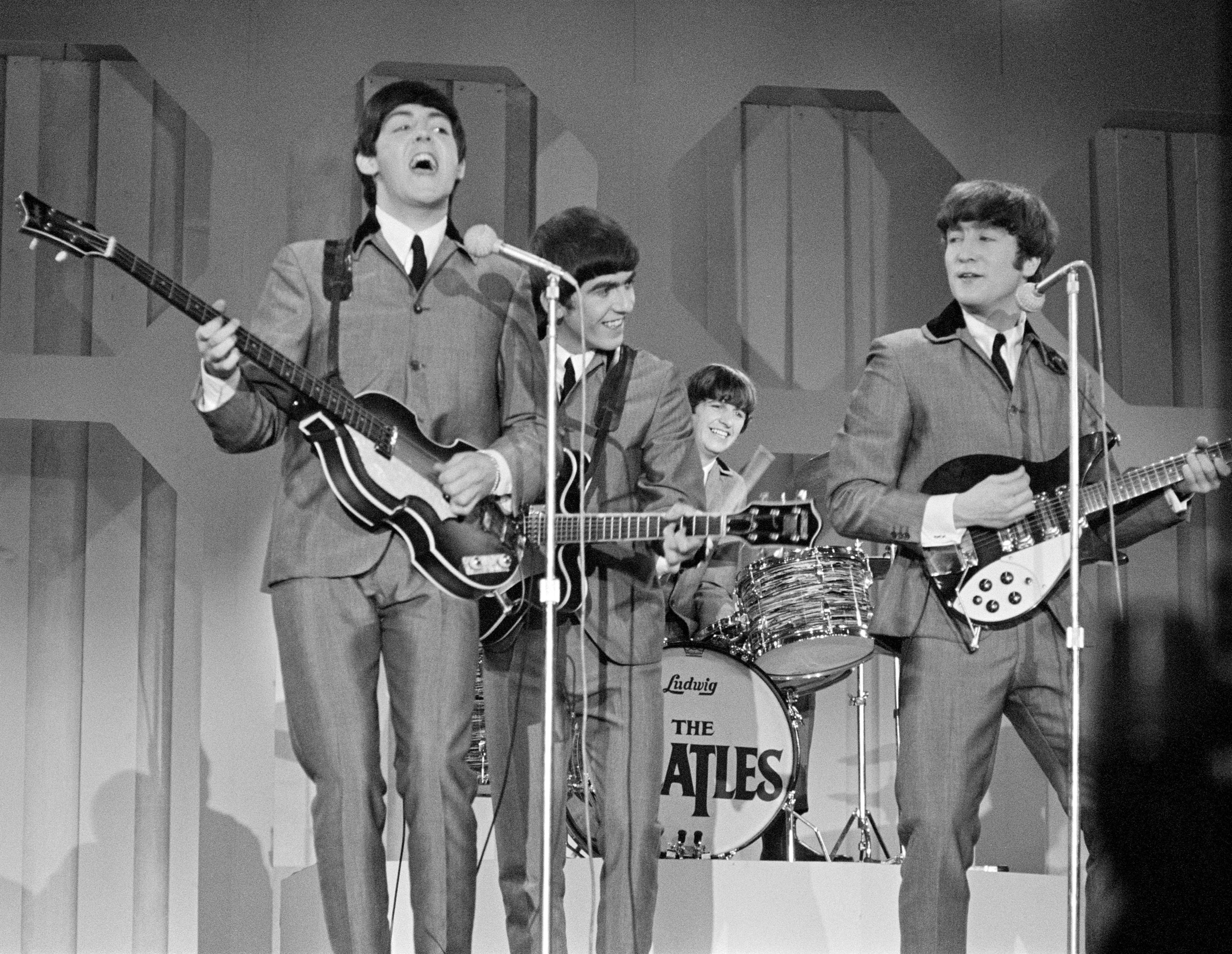John Lennon Paul Mccartney Wrote This Song Last Minute Ended Up Starting Beatlemania Rock Music Revival